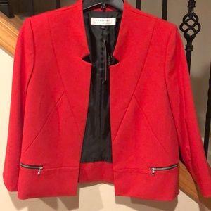 Tahari Arthur s. Levine red blazer